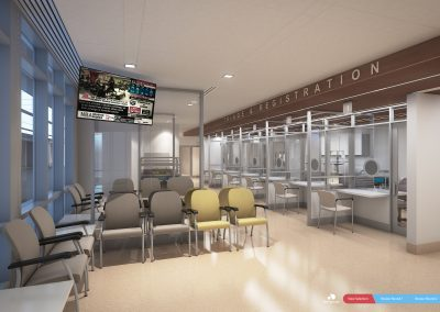 Future triage and waiting room