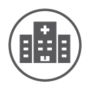 representative icon for hospital
